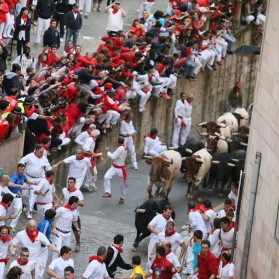 JULY 2018 - SAN FERMINES PAMPLONA EXPERIENCE
